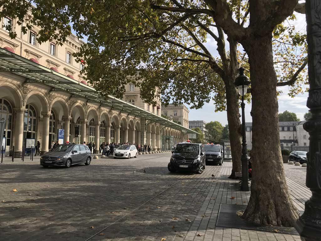 taxi, paris est, gare de l'Est