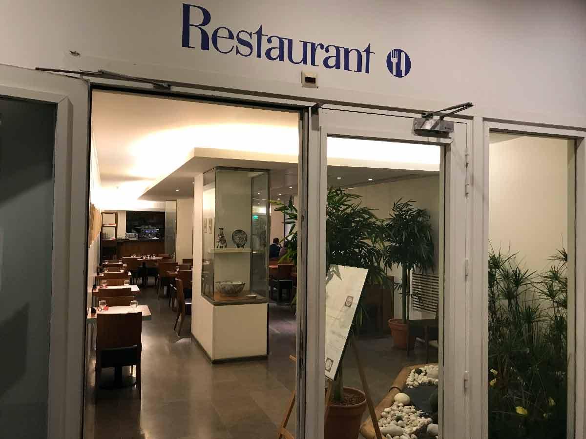 Restaurant Salon des Porcelaines au musée Guimet